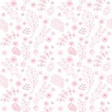 Naadloos patroon met leuke konijnen vector illustratie