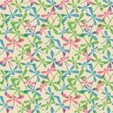 Naadloos patroon met libellen Royalty-vrije Stock Foto