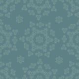 Naadloos patroon met lichte ornamenten Stock Foto