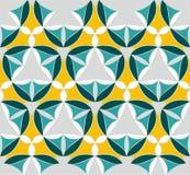 Naadloos patroon met mandalatextuur Stock Afbeeldingen