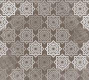 Naadloos patroon met met elkaar verbindende elementen Royalty-vrije Stock Afbeeldingen