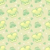 Naadloos patroon met mooie bloemen royalty-vrije illustratie