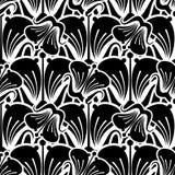 Naadloos patroon met mooie bloemen vector illustratie