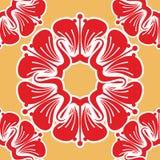 Naadloos patroon met mooie bloemen stock illustratie