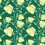 Naadloos patroon met mooie bloemen Abstract bloemenkleurenpatroon vector illustratie
