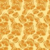 Naadloos patroon met mooie bloemen Abstract bloemenkleurenpatroon stock illustratie