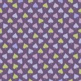 Naadloos patroon met multicolored bladeren Royalty-vrije Stock Afbeeldingen