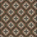 Naadloos patroon met netwerk royalty-vrije illustratie
