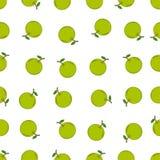 Naadloos patroon met oranje fruit Royalty-vrije Stock Foto
