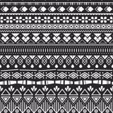 Naadloos patroon met ornament Royalty-vrije Stock Afbeeldingen