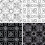 Naadloos patroon met ornamenten Royalty-vrije Stock Foto