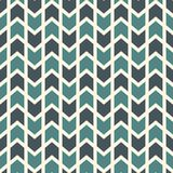 Naadloos patroon met pijlenmotief Herhaalde minihoekijzers Chevronsbehang Minimalistische abstracte achtergrond royalty-vrije illustratie