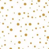 Naadloos patroon met punt De achtergronden van Kerstmis Royalty-vrije Stock Fotografie
