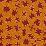 Naadloos patroon met raadsels vector illustratie