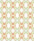 Naadloos patroon met rode bloemen Voor ontwerp, behang, dekking Stock Afbeelding