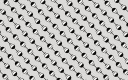 Naadloos patroon met rode wijnglas Royalty-vrije Stock Afbeeldingen
