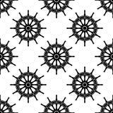 Naadloos patroon met roeren Stock Afbeeldingen