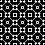 Naadloos patroon met rond gemaakte kruisen, vierkanten, driehoeken Stock Fotografie
