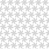Naadloos patroon met roterende cijfers Optische illusie van beweging van vormen in ruimte royalty-vrije illustratie