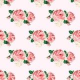 Naadloos patroon met rozen voor ontwerp vector illustratie