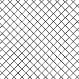 Naadloos patroon met ruitcellen, rooster Vector illustratie royalty-vrije illustratie