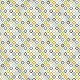 Naadloos patroon met ruiten Stock Afbeelding
