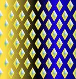Naadloos patroon met ruiten royalty-vrije illustratie