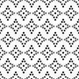 Naadloos patroon met ruiten Royalty-vrije Stock Foto's