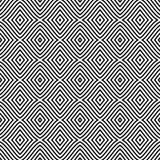 Naadloos patroon met ruiten, strepen, lijnen Herhaalbaar ontwerp voor decor, stof, tapijt, omslag royalty-vrije illustratie