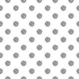 Naadloos patroon met Sepak Takraw Royalty-vrije Stock Foto