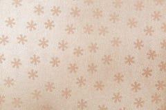 Naadloos patroon met sneeuwvlok Stock Afbeeldingen
