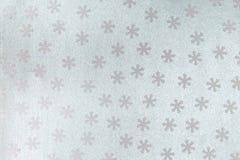 Naadloos patroon met sneeuwvlok Royalty-vrije Stock Fotografie