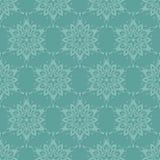 Naadloos patroon met sneeuwvlokken Royalty-vrije Stock Fotografie