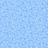 Naadloos patroon met sterren Stock Afbeelding