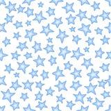 Naadloos patroon met sterren royalty-vrije illustratie