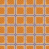 Naadloos patroon met stralen royalty-vrije illustratie