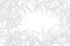 Naadloos patroon met takken en doornen royalty-vrije illustratie