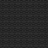 Naadloos patroon met traditioneel ornament Royalty-vrije Stock Afbeeldingen