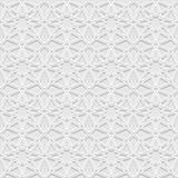Naadloos patroon met traditioneel ornament Royalty-vrije Stock Afbeelding