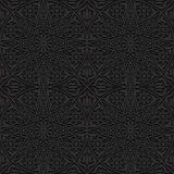 Naadloos patroon met traditioneel ornament Stock Foto's