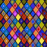 Naadloos patroon met traditionele beweging veroorzakend Stock Fotografie