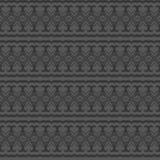 Naadloos patroon met uitstekend ornament Vector illustratie Stock Afbeelding