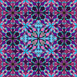 Naadloos patroon met Uitstekende decoratieve elementen Royalty-vrije Stock Afbeeldingen