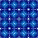 Naadloos patroon met uitstekende elementen, textuur voor behang Stock Afbeelding