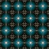 Naadloos patroon met uitstekende elementen, textuur voor behang Royalty-vrije Stock Foto