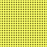 Naadloos patroon met vele kleine gele cirkels Royalty-vrije Stock Afbeelding