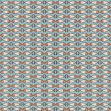 Naadloos patroon met vissen Stock Afbeeldingen