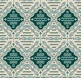 Naadloos patroon met vissen Royalty-vrije Stock Afbeelding