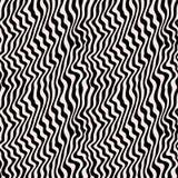 Naadloos patroon met visueel effect van 3D oppervlakte stock illustratie