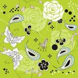 Naadloos patroon met vlinder Royalty-vrije Stock Fotografie